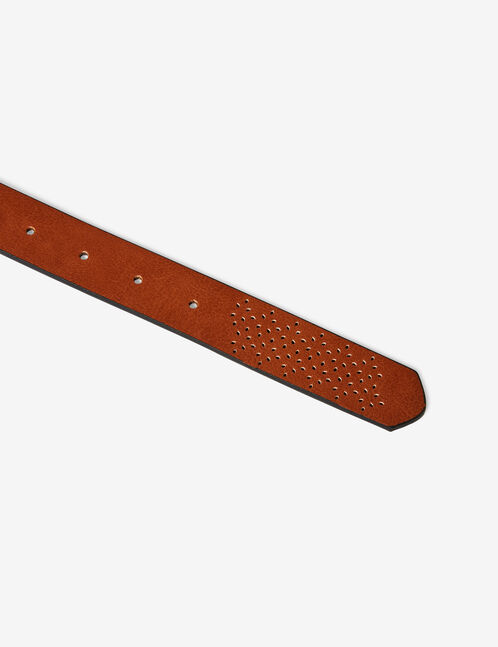 Camel perforated belt