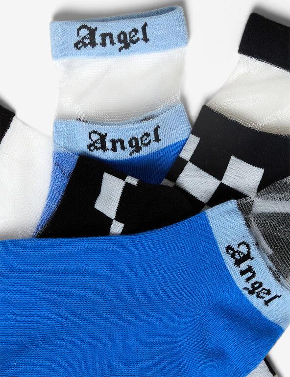 Chaussettes avec résille