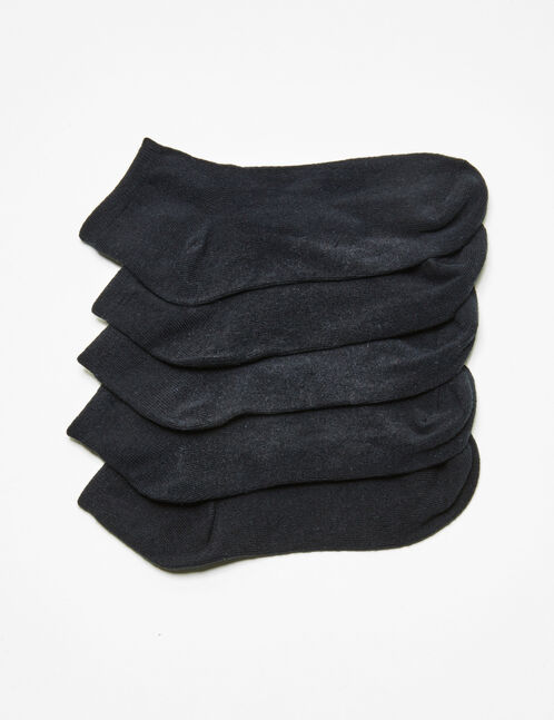Basic black socks
