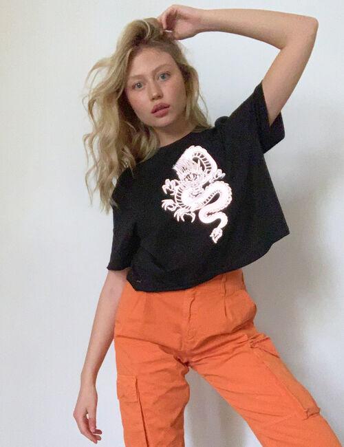 Tee-shirt motif réfléchissant