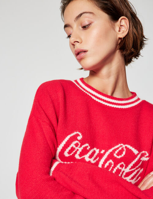 Coca-Cola loose-fit jumper