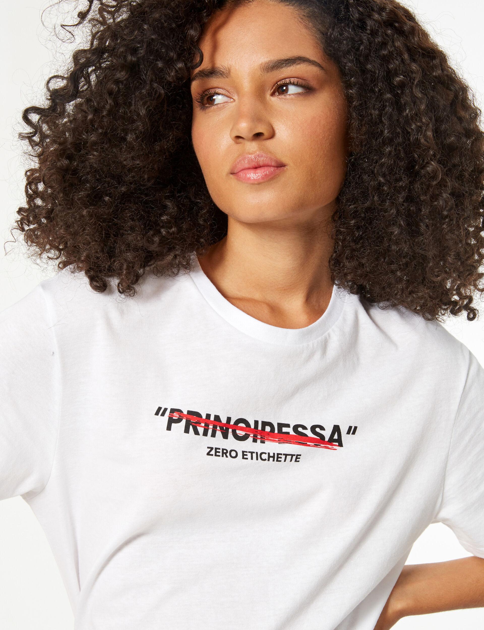 'Don't call me principessa' ('don't call me princess') T-shirt