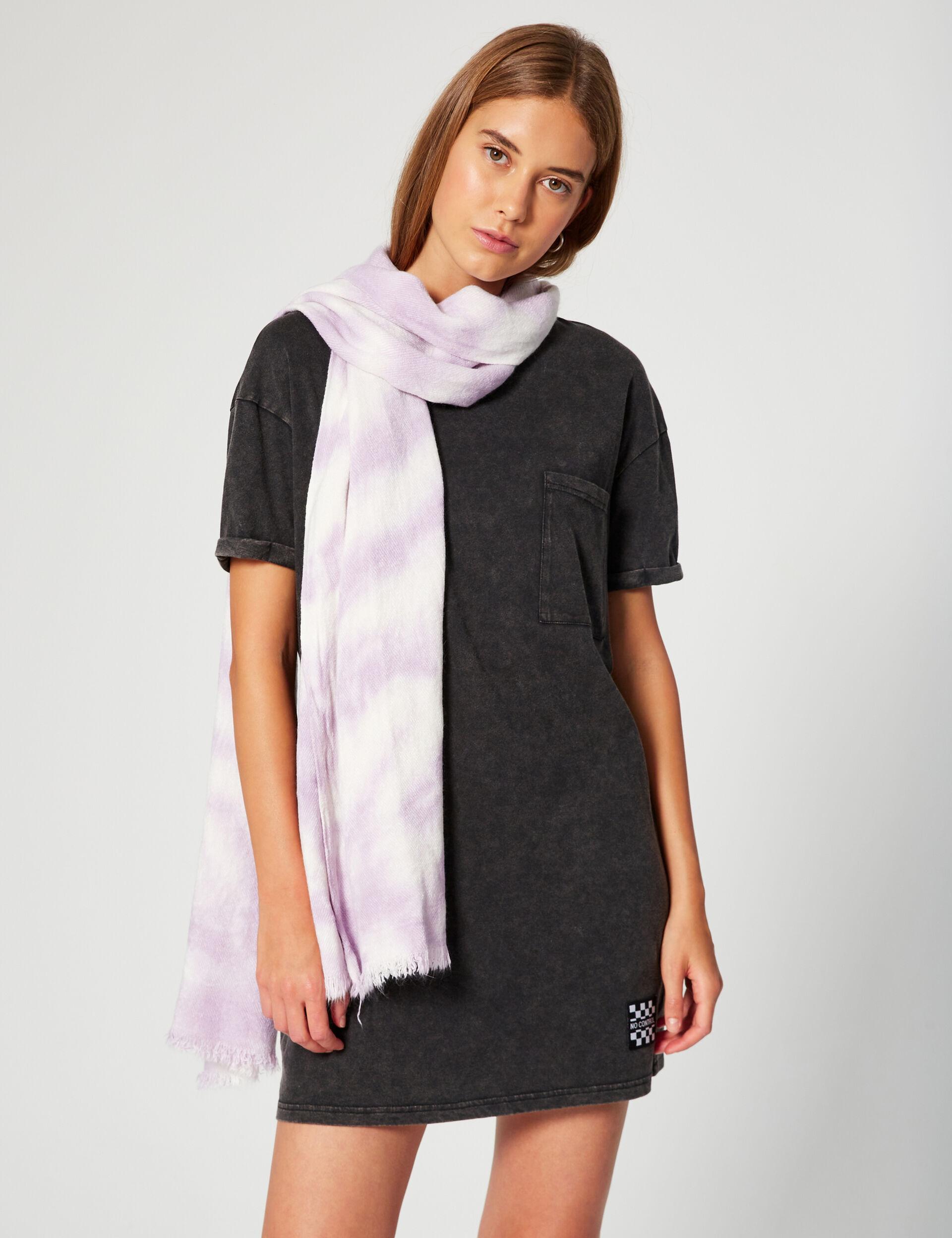 Écharpe tie and dye