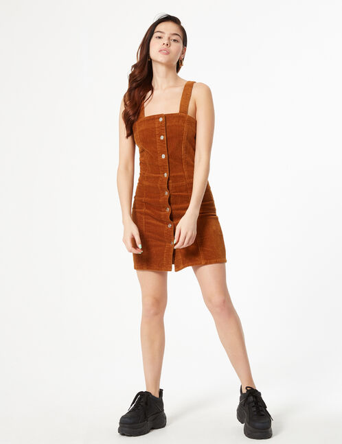 robe en velours côtelé