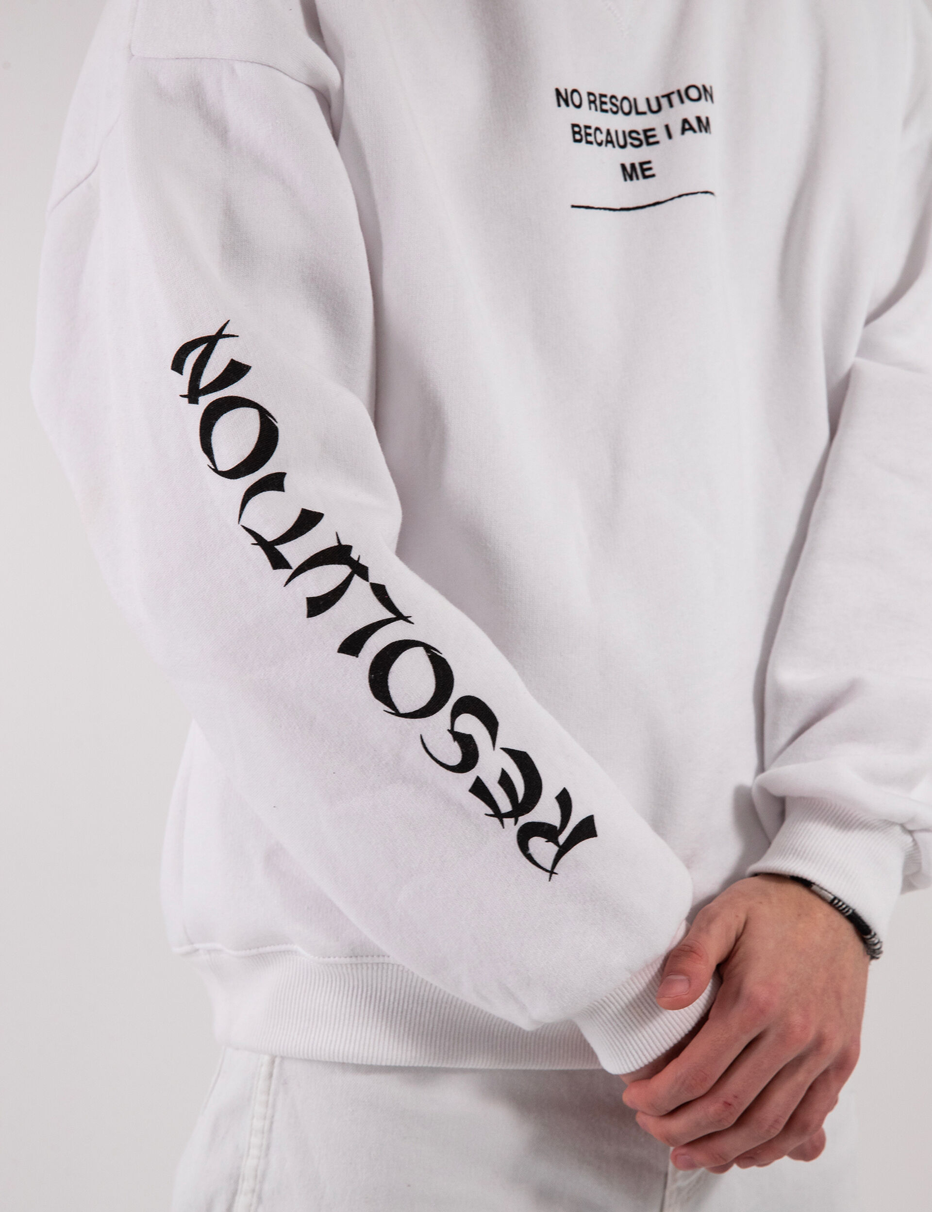 Messy sweatshirt