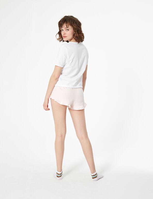 Shell-patterned pyjamas