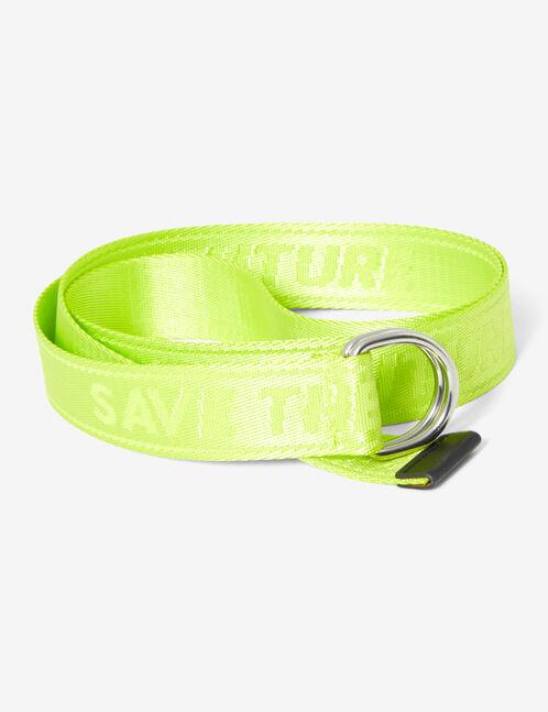 'Save the future' belt