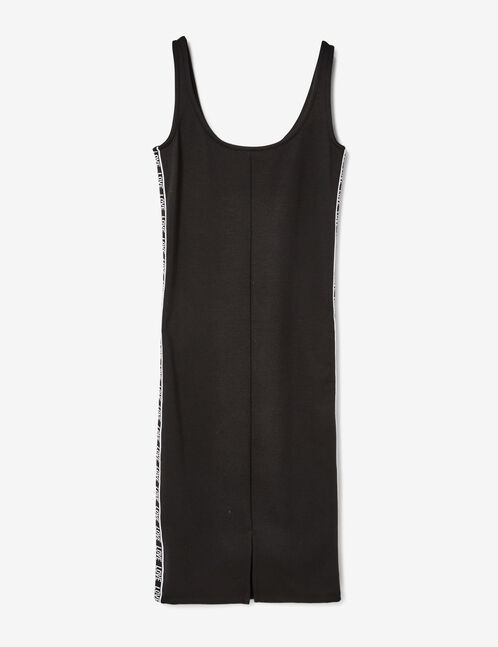 "Black ""love"" tube dress"