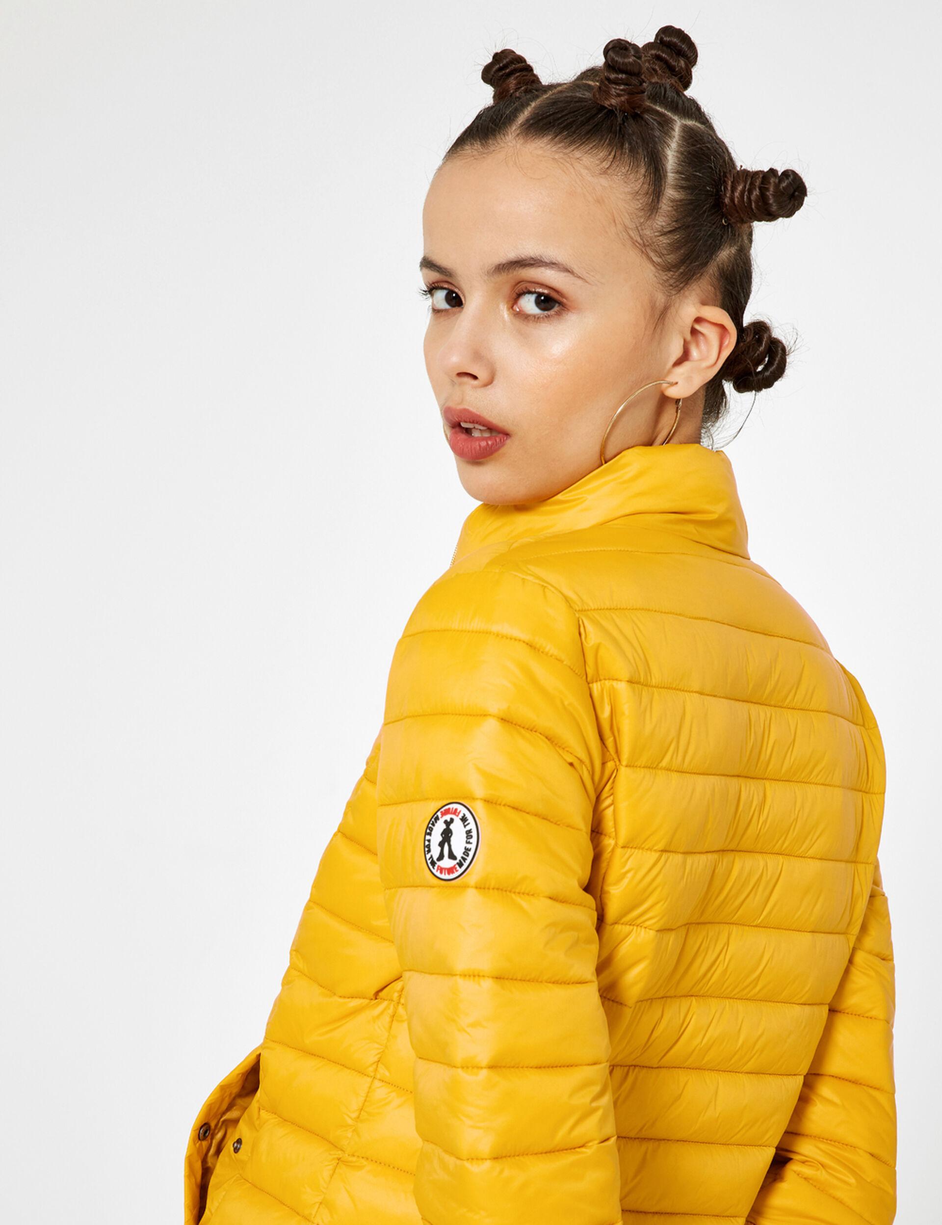 Ochre lightweight padded jacket