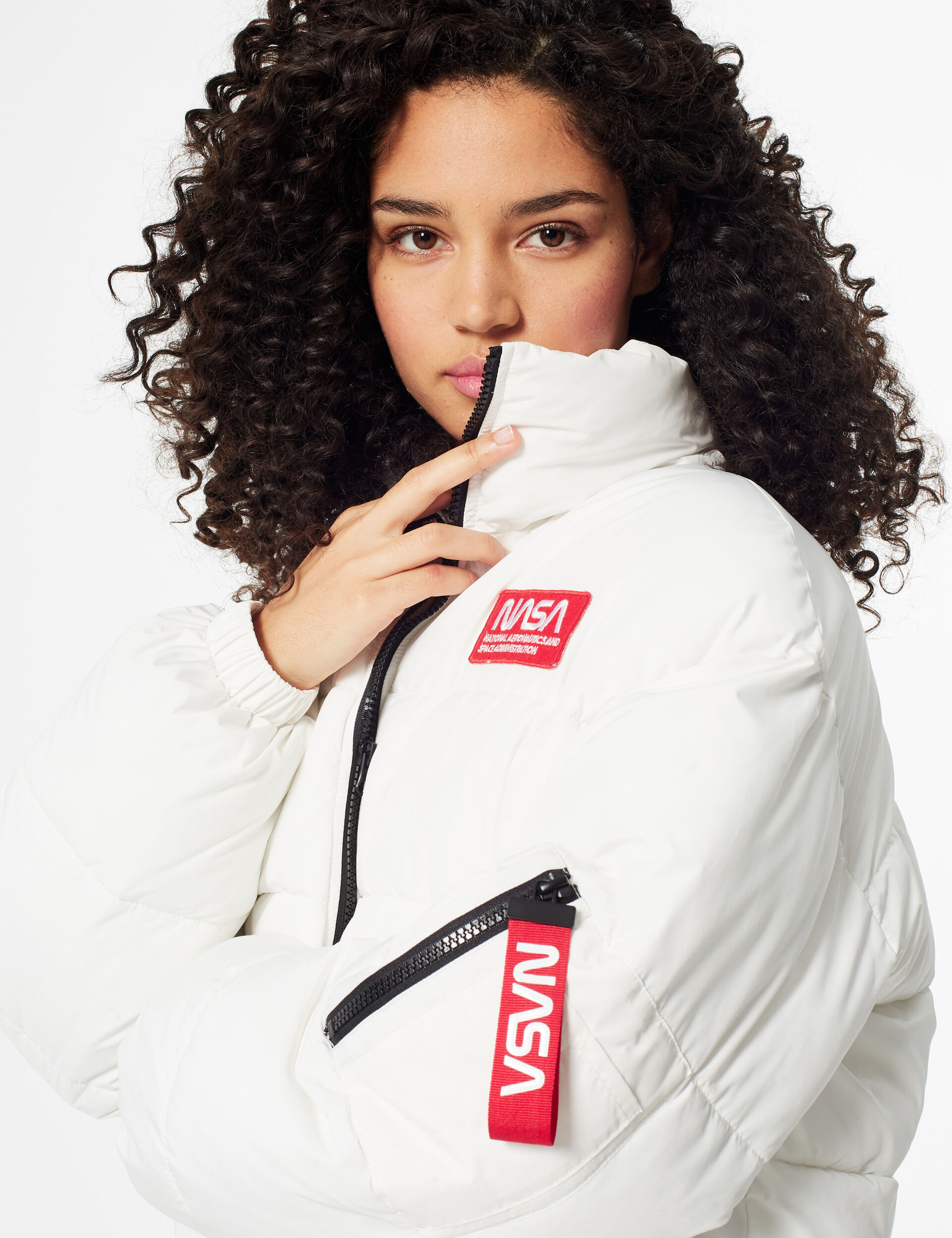 NASA puffer jacket