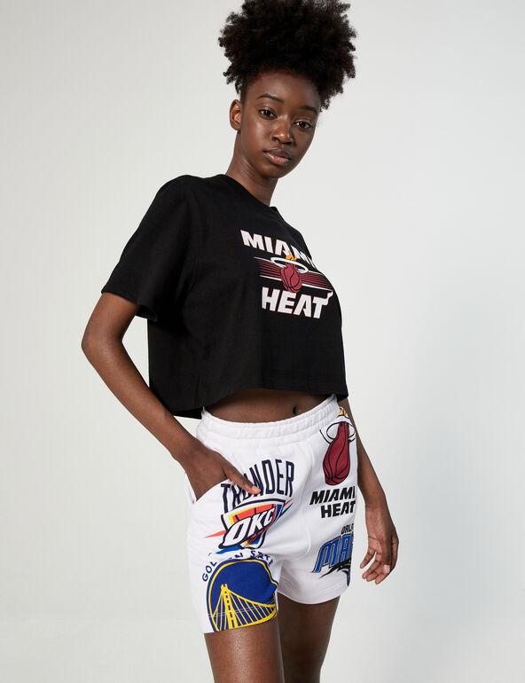 NBA shorts with logo