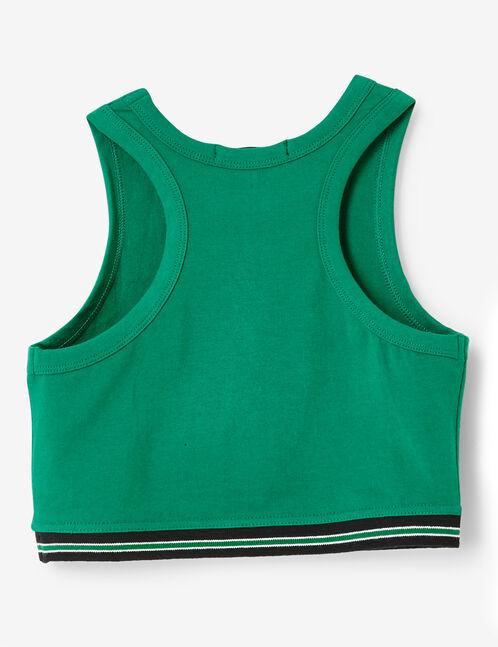 top brassière vert