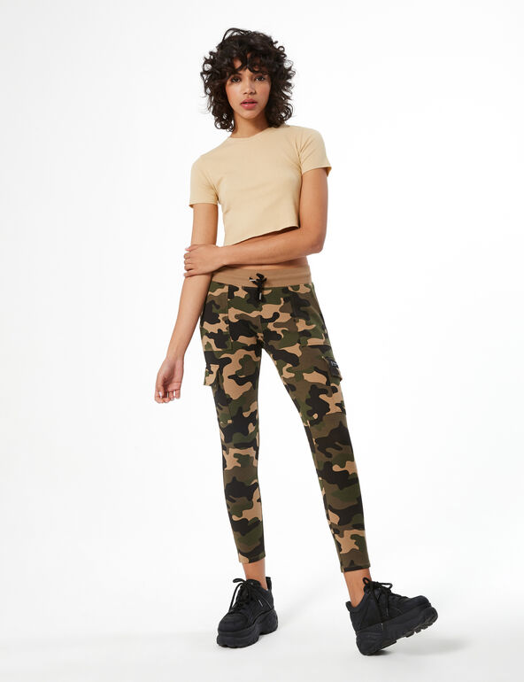 Combat camouflage sweatsuit