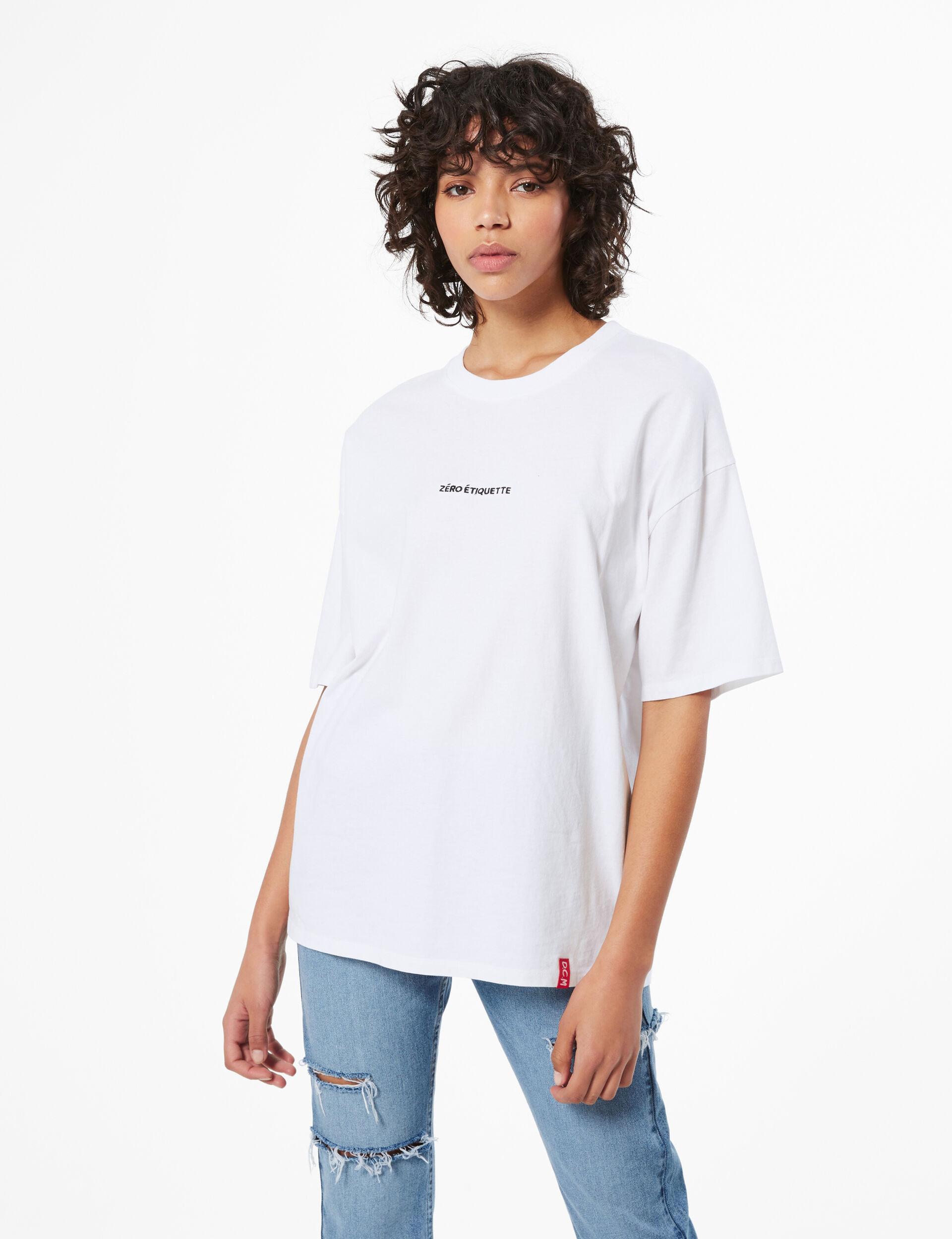 zéro étiquette T-shirt