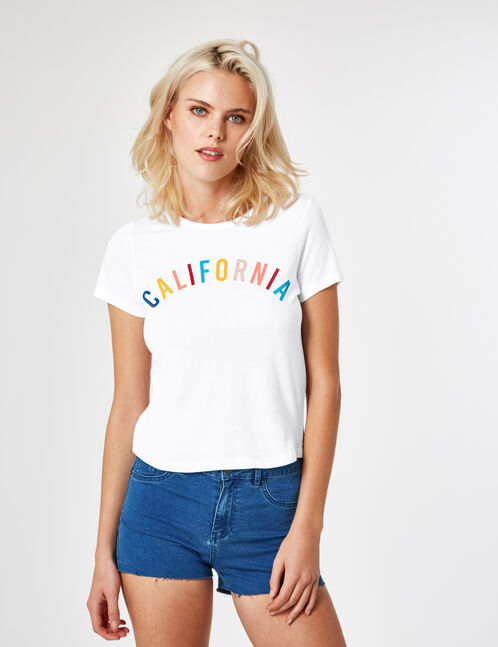 "White ""California"" T-shirt"