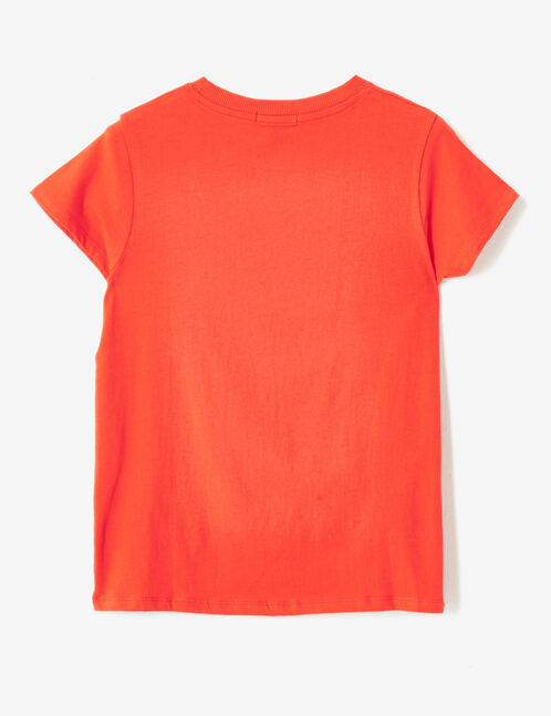 tee-shirt basic rouge