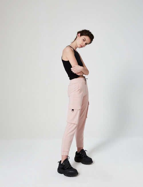Cargo jogging bottoms