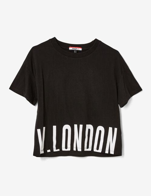 tee-shirt w london noir
