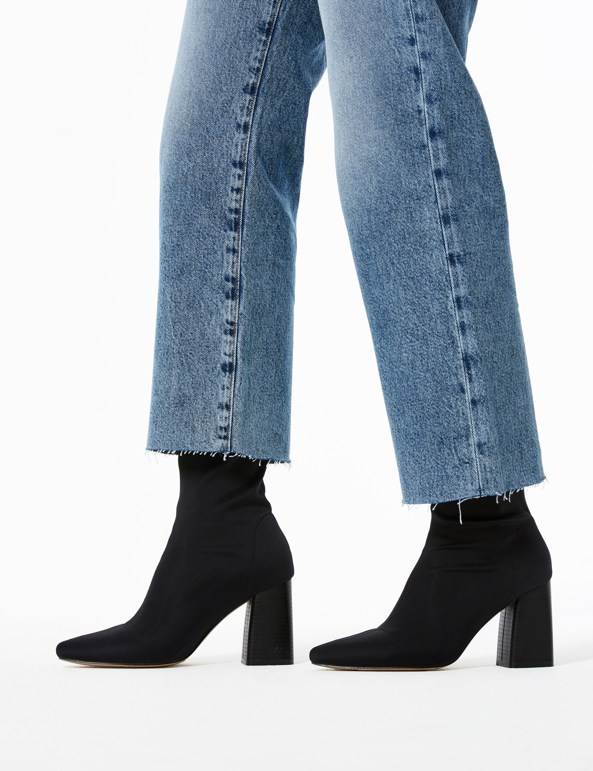 Haters heeled ankle boots