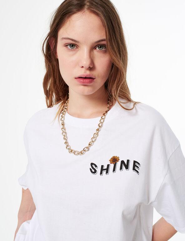 Tee-shirt shine