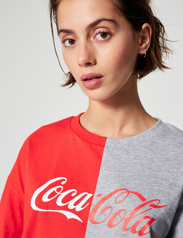 Coca-Cola two-tone T-shirt
