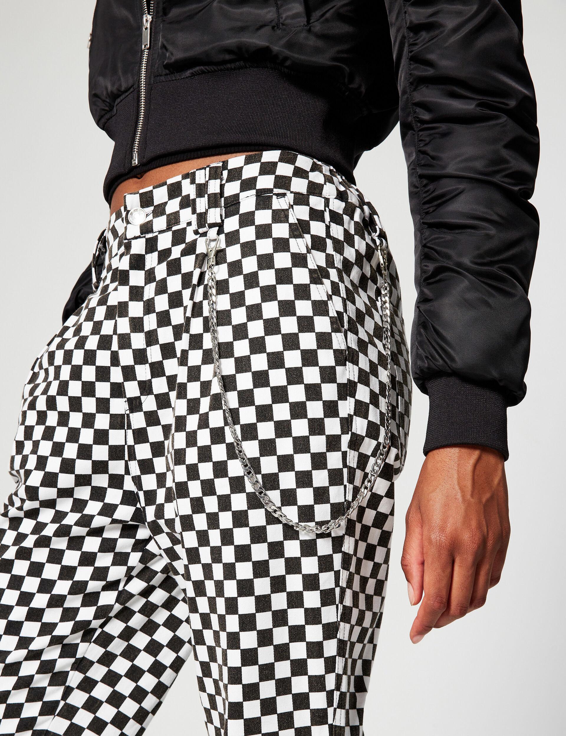 Pantalon cargo imprimé