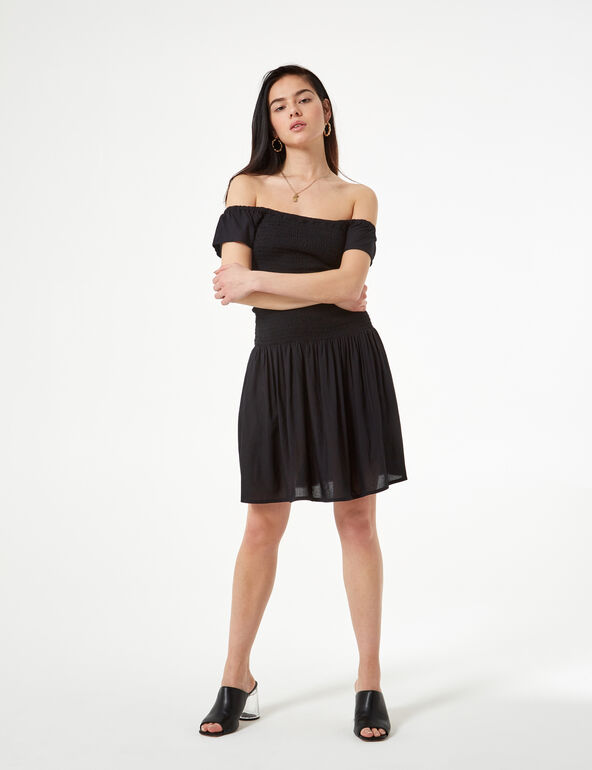 Shirred dress