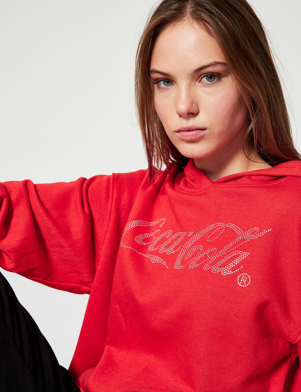 Sweat strass Coca-Cola