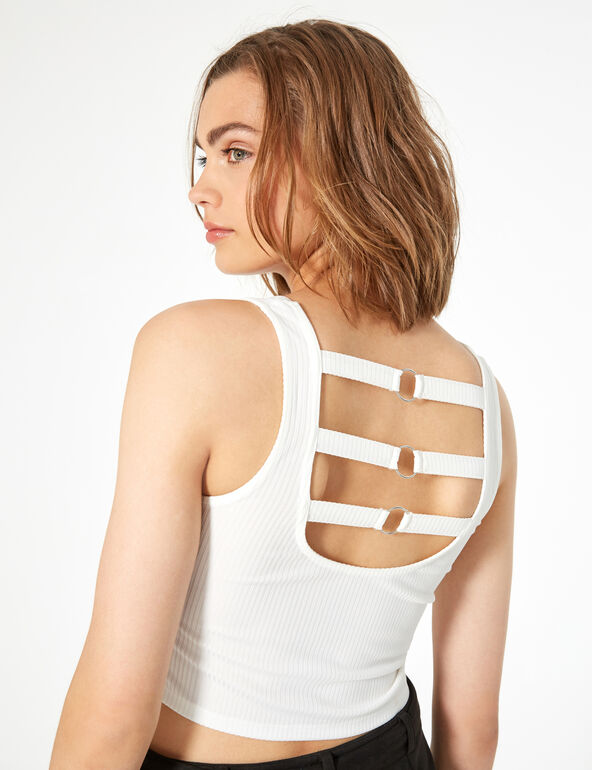 Top with back tie