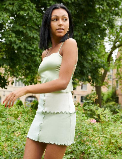 OGEE patchwork skirt