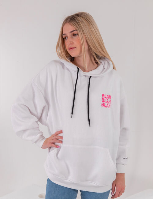 Oversized 'coquillette' hoodie