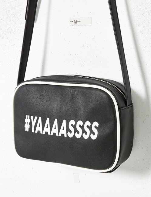 """Black """"yaaaassss"""" bag"""