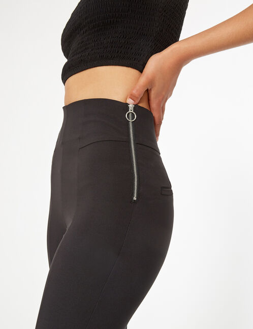 pantalon ville zippé