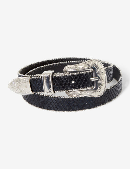 ceinture western python