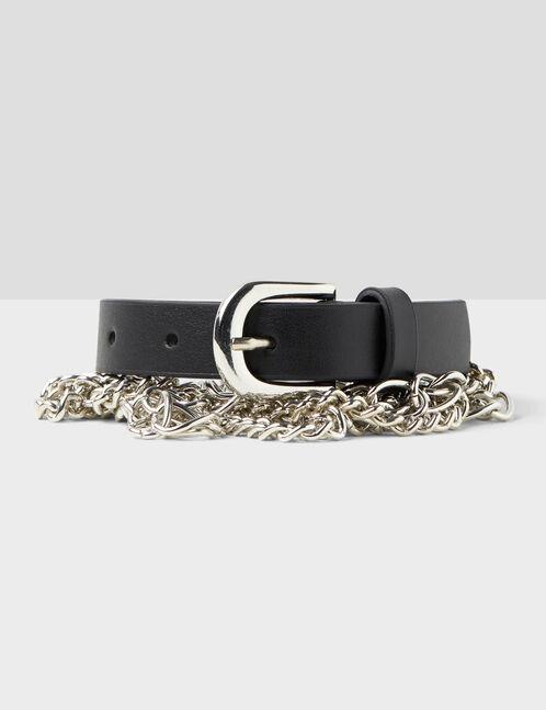 ceinture avec chaînes