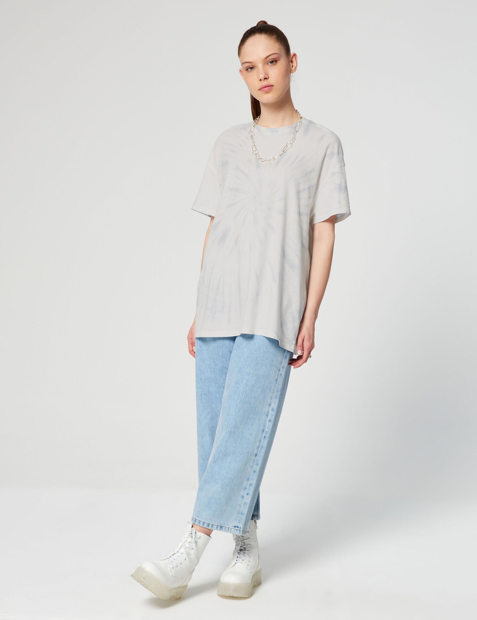 Tee-shirt loose imprimé