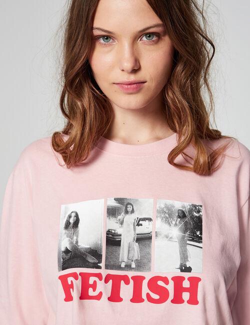 Tee-shirt court Fetish