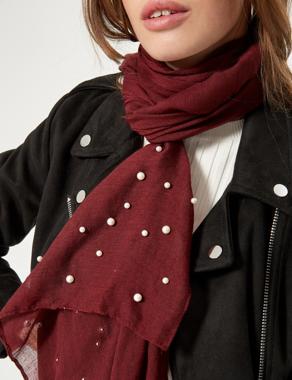 good out x ever popular online retailer Foulard avec perles
