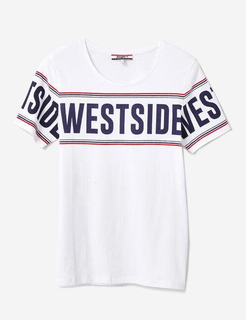 "White ""westside"" T-shirt"