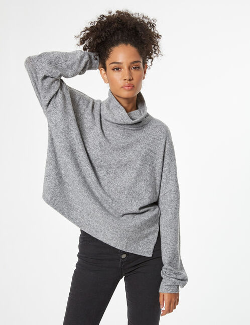 Tee-shirt col roulé