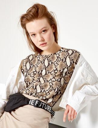 2ecee9e045113 T-shirt   Top Femme • Jennyfer