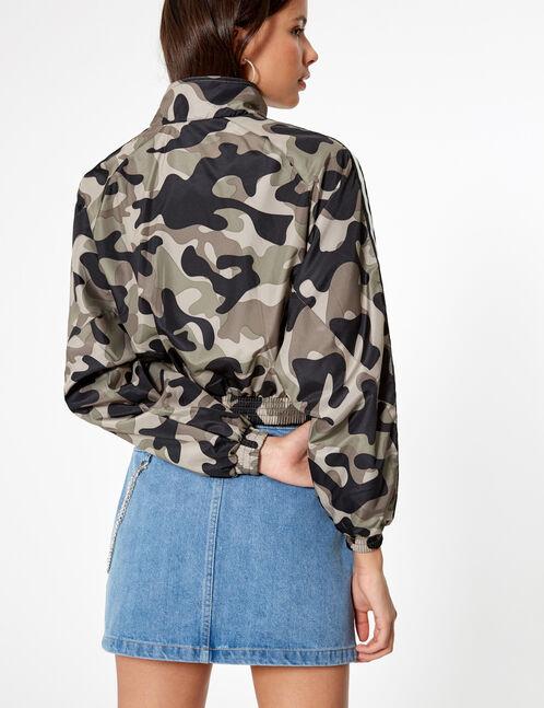 veste légère camouflage kaki