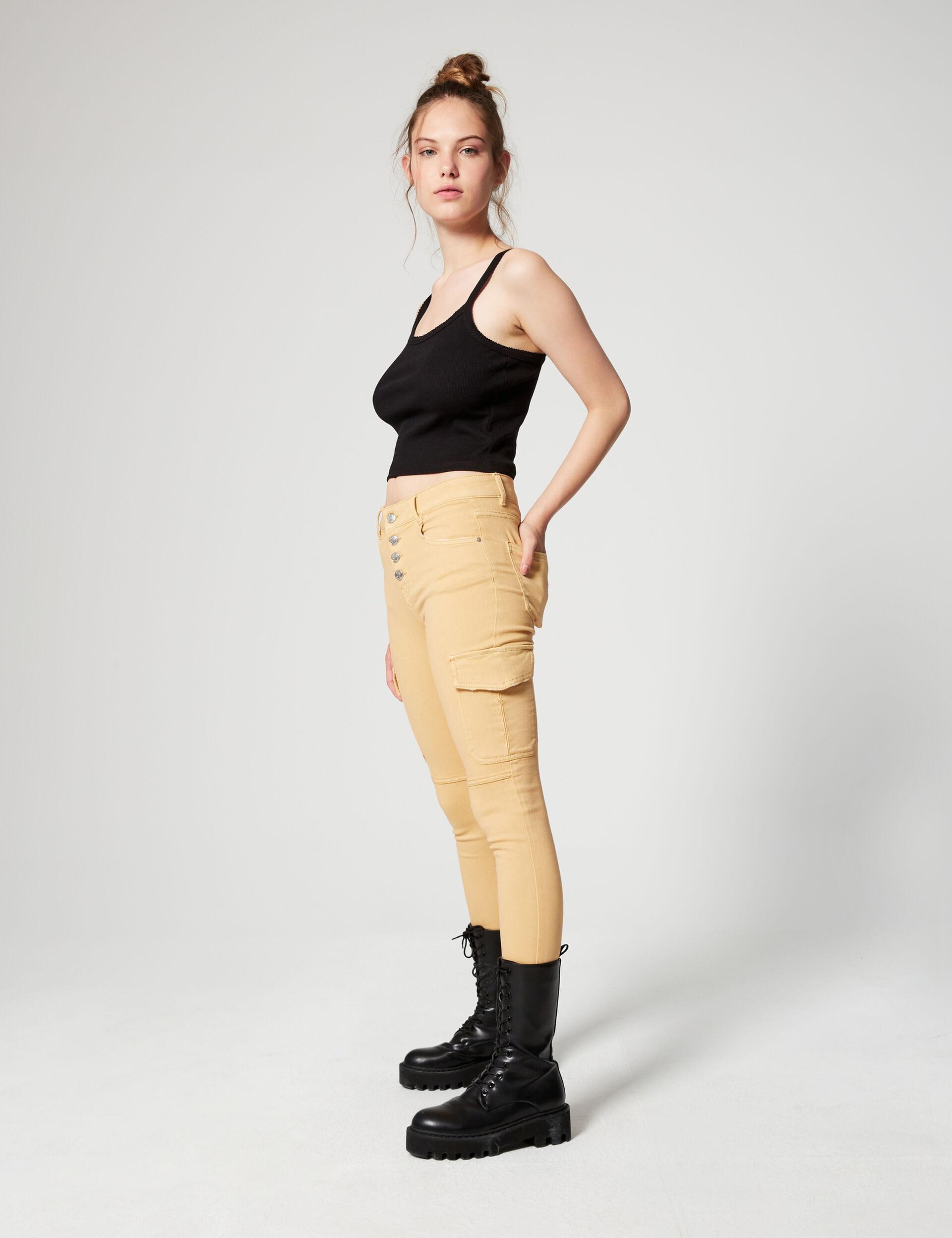 Pantalon skinny à poches