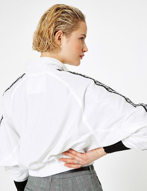 Lightweight cream jacket