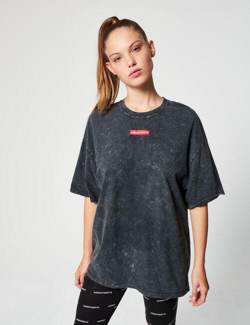 Zéro Étiquette oversized T-shirt