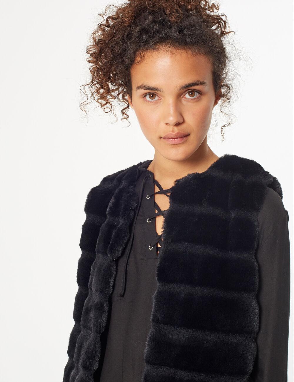 acheter en ligne 150f0 3f3dc Manteau imitation fourrure femme • Jennyfer