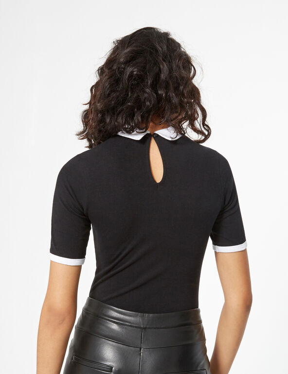Blouse collar body