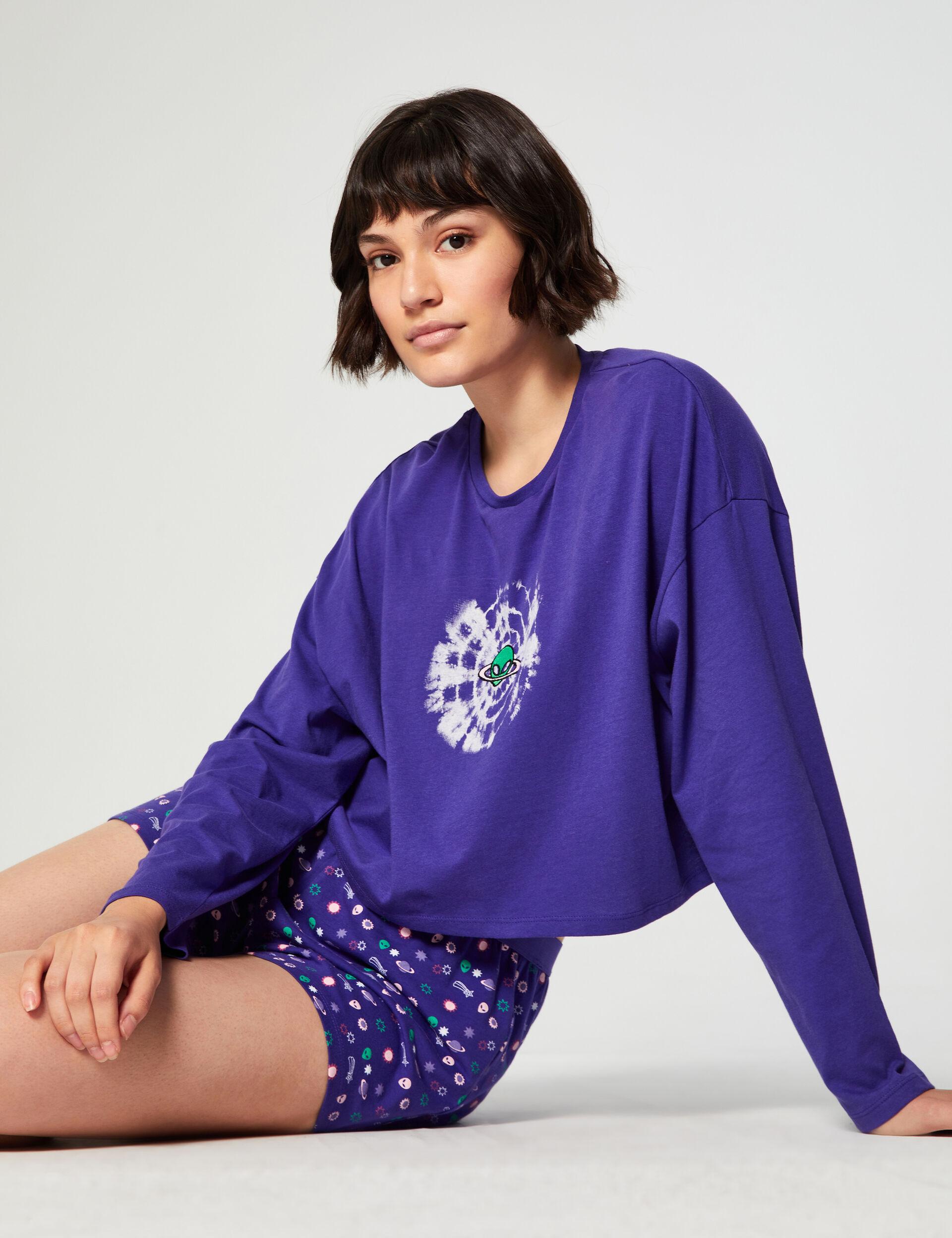 Set pyjama alien