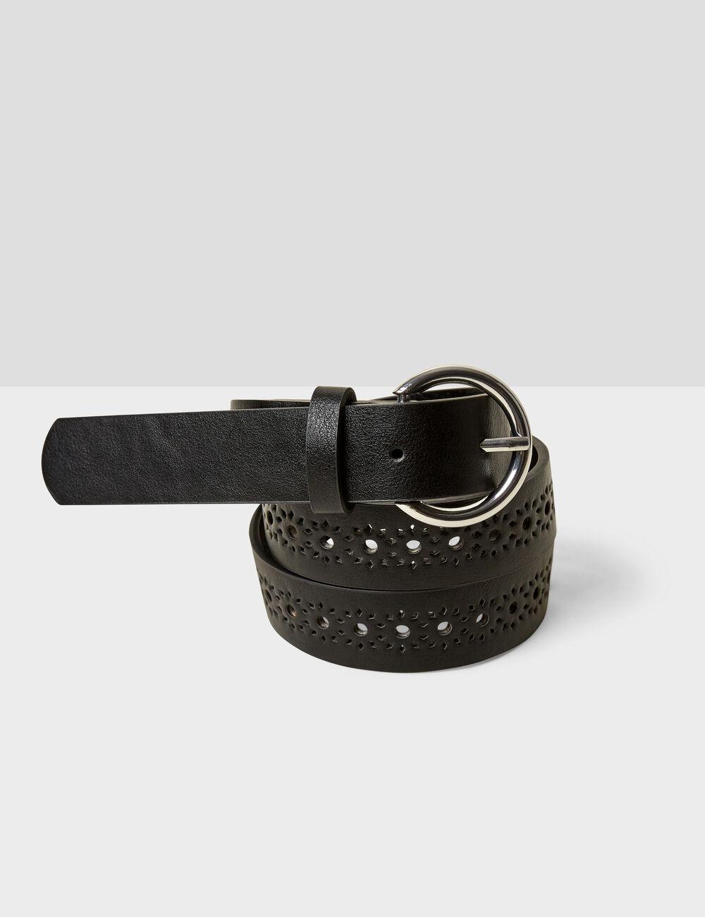 ceinture perforée fantaisie