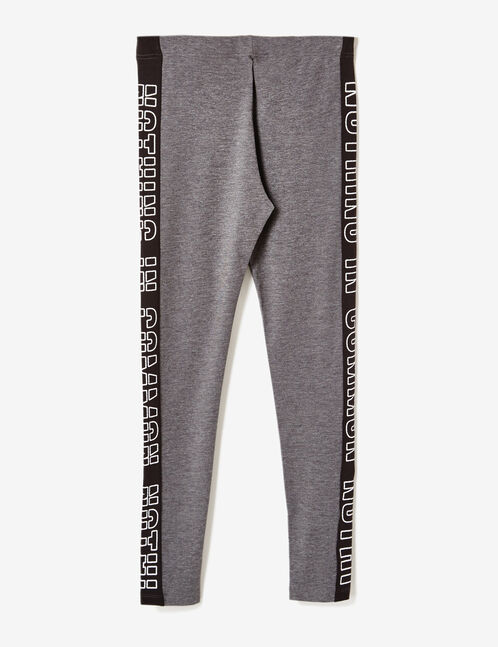 legging nothing in common gris anthracite chiné